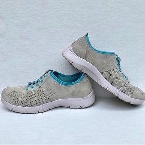 Dansko Suede Gray Comfort Sneaker